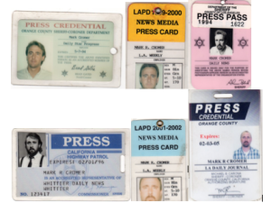 Press Pass Collage