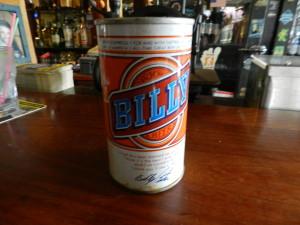 Billy Beer Unopened